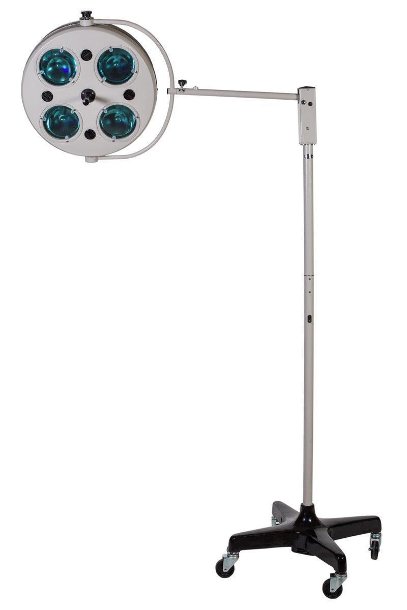 L734-II-четырехрефлекторный передвижной бестеневой светильник