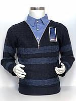 Обманка молодежная (рубашка) на мальчика london FIVE