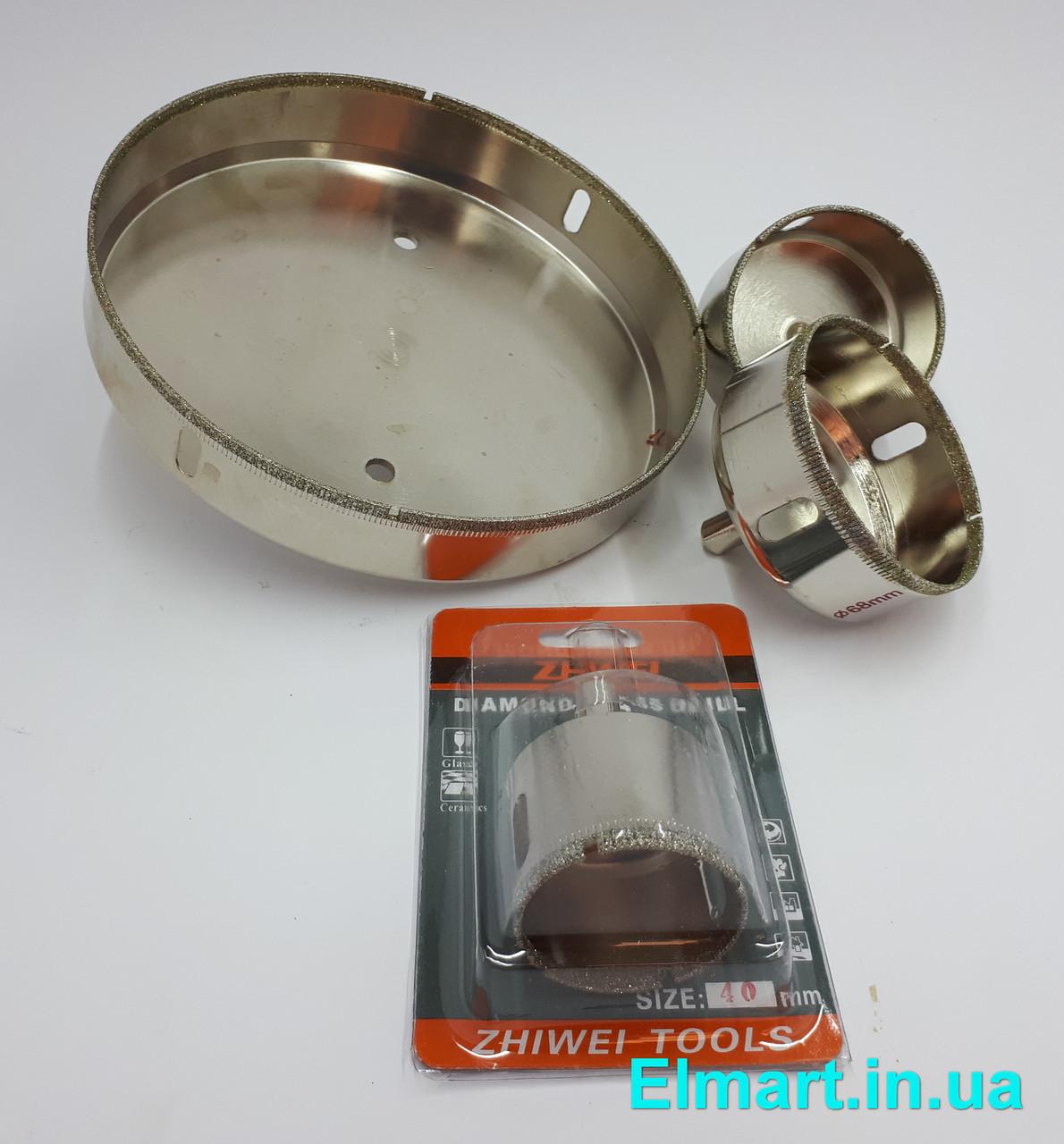 Коронки алмазные 6 mm по керамике и стеклу