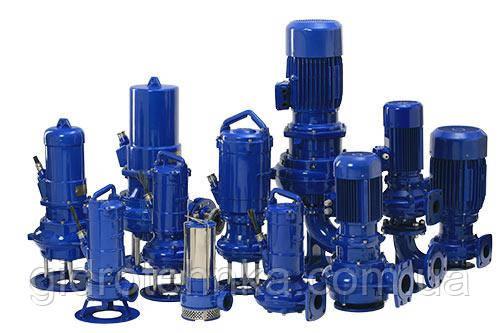 Насоси для забруднених рідин типу FZE.2