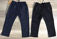Котоновые брюки для мальчиков оптом, S&D, 4-12 лет,  № XEE-034, фото 1
