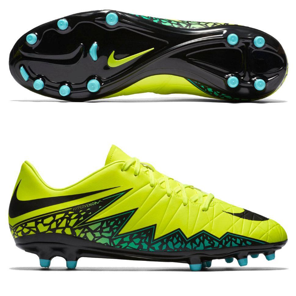 Бутсы футбольные Nike HYPERVENOM PHELON II FG 749896-703
