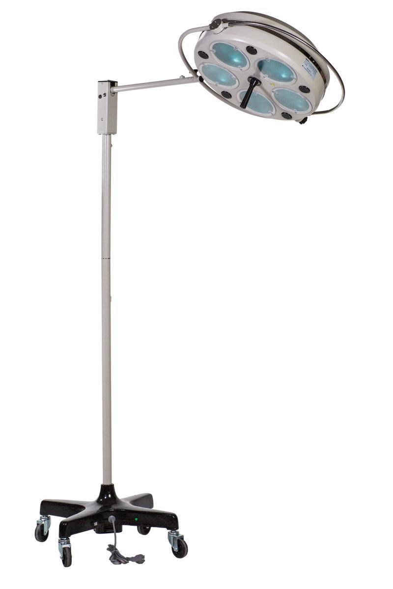 L735-II-пятирефлекторный передвижной бестеневой светильник