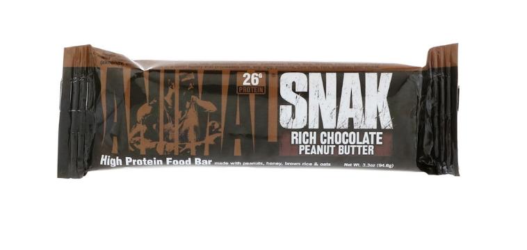 Батончик Universal Nutrition - Snak (94,6 гр) насыщенное шоколадное арахисовое масло