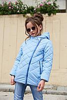 Модная детская куртка Мия,   р-ры 116 - 128, ТМ NUI VERY, фото 1