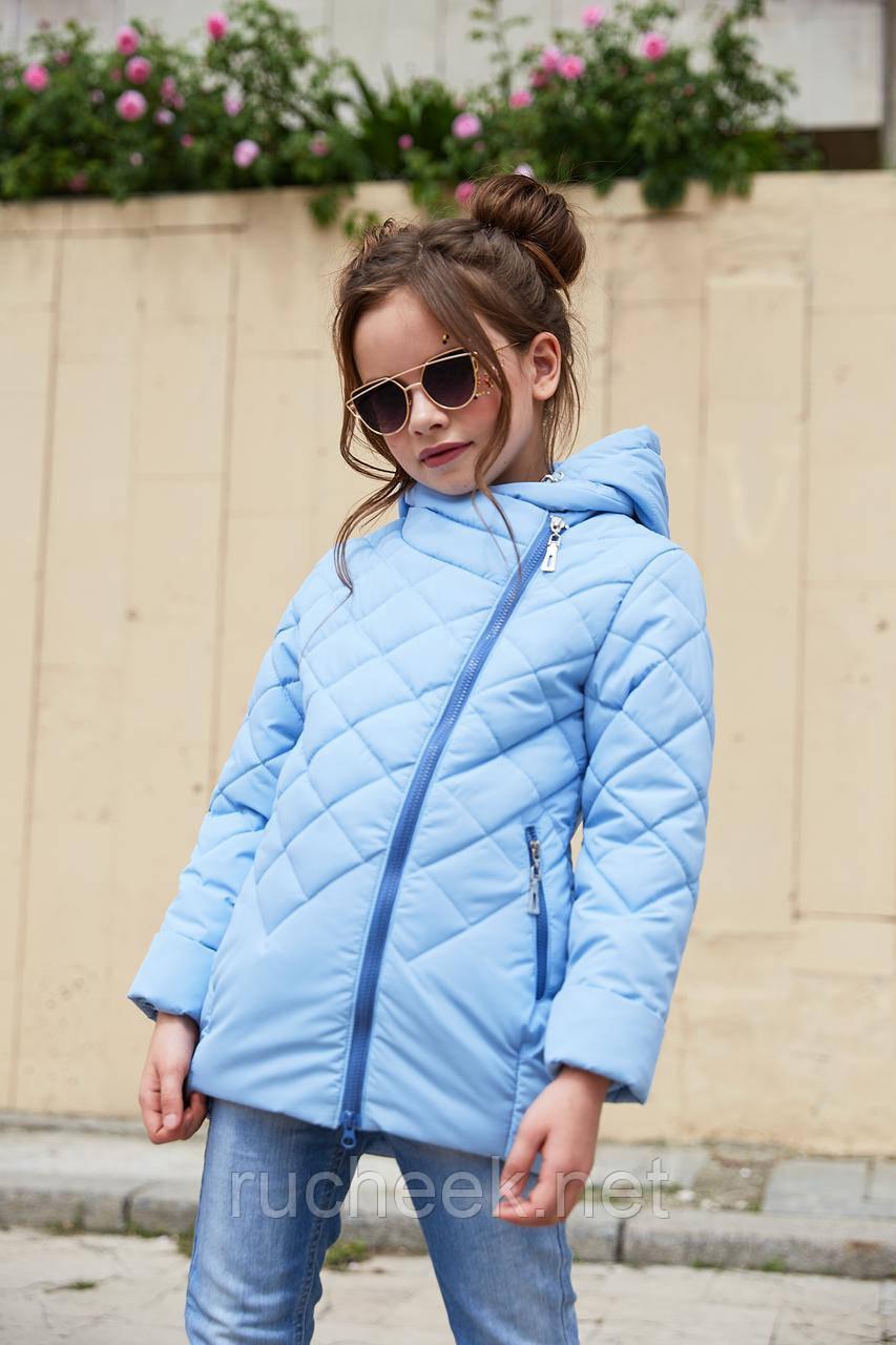 Модная детская куртка Мия,   р-ры 116 - 128, ТМ NUI VERY