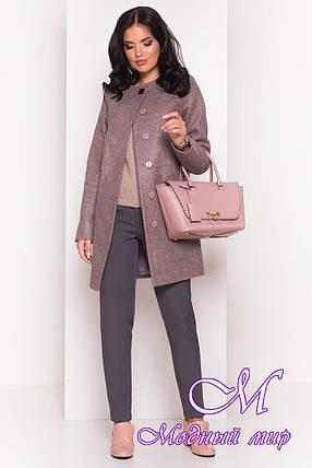 Женское кашемировое пальто осень весна (р. S, M, L) арт. Шаника 5379 - 36612, фото 2