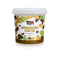 Арахисовая паста ТОМ - Кранч (500 гр) шоколад