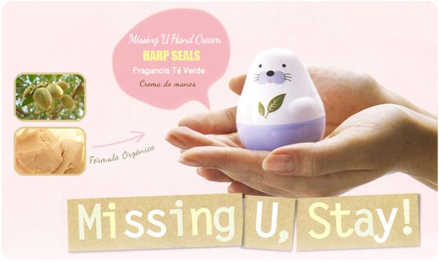 Etude House Missing U Hand Cream Harp Seals