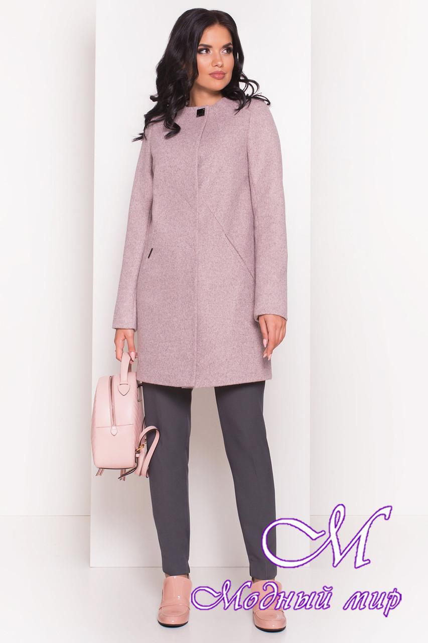 Женское пальто осень весна из кашемира (р. S, M, L) арт. Шаника 5379 - 36613