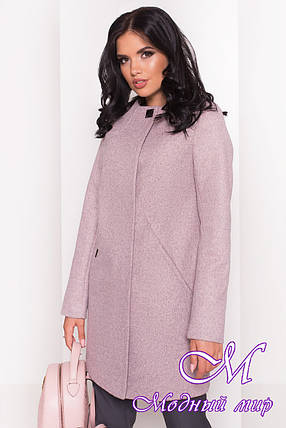 Женское пальто осень весна из кашемира (р. S, M, L) арт. Шаника 5379 - 36613, фото 2