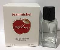 Женская туалетная вода jeanmishel Love Nina60ml люкс качества