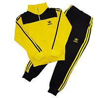 """Спортивный костюм для мальчика  128-176(8-14р.) арт.4030 """"Adidas"""" желтый"""