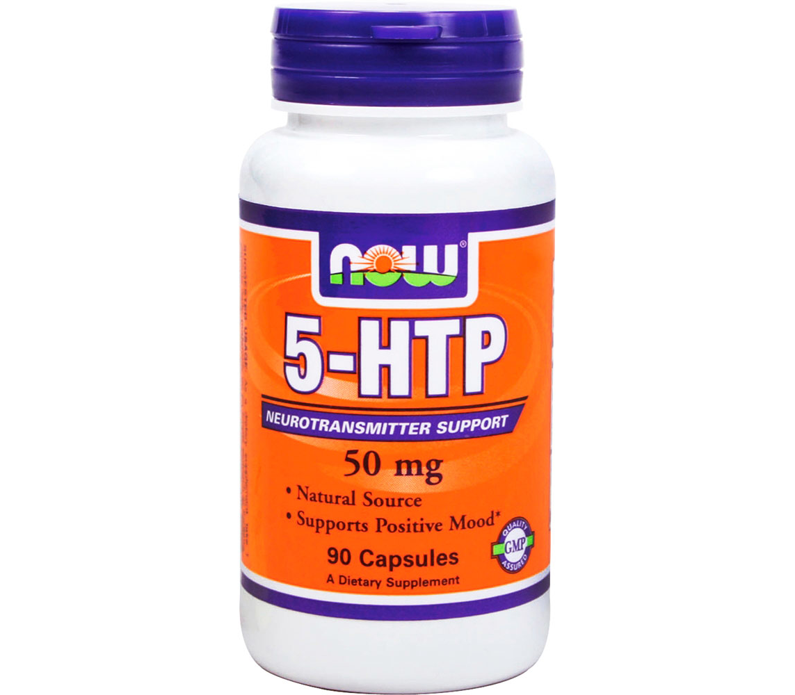 Релаксант NOW Foods - 5-HTP 50 мг (90 капсул)