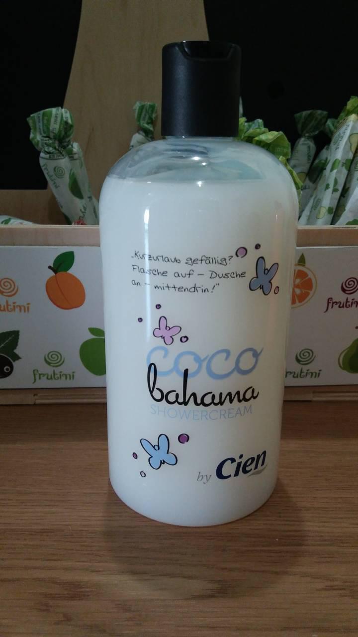 Гель-крем для душа Cien Shower Cream Coco Bahama (Кокос) 500 мл