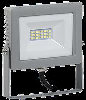 Прожектор СДО 07-20 светодиодный серый IP65 IEK