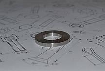 Шайба М10 для фланцевых соединений оцинкованная ГОСТ 9065-75