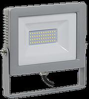 Прожектор СДО 07-50 светодиодный серый IP65 IEK