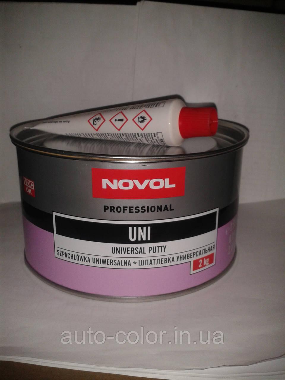 Шпатлёвка универсальная Novol, 2 кг