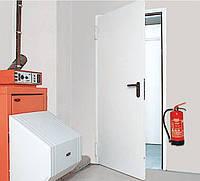 Противопожарные двери Hormann HUA30 A-1 RAL 9002,прав/лев. 1000х2100 с алюминиевыми ручками