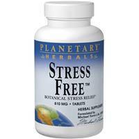 Средство от стресса, Planetary Herbals,  810 мг, 90 таблеток