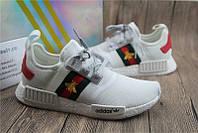 """Кроссовки женские Adidas NMD в стиле Gucci """"С пчелой"""" р. 36, фото 1"""