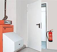 Противопожарные двери Hormann HUA30 A-1 RAL 9002,прав/лев. 900х2100 с алюминиевыми ручками