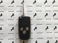 Корпус выкидного ключа для TOYOTA (Тойота) 3 кнопки, лезвие TOY43 Ключ Toyota