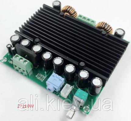 Підсилювач TDA8954  D-клас 2*210Вт DC 12-42B усилитель аудио