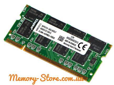 Оперативная память для ноутбука DDR1 DDR SODIMM 1Gb 333MHz PC2700, Kingston, фото 2