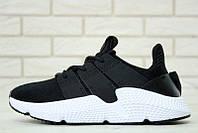 """Кроссовки мужские Adidas Prophere Black  """"Черные"""" р. 41-44, фото 1"""