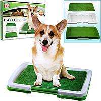 Домашний туалет для щенков и собак Puppy Potty Pad, фото 1