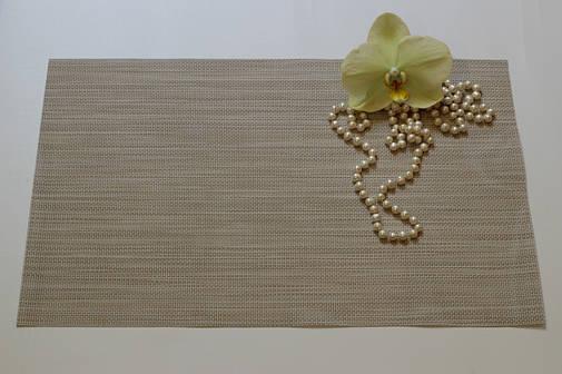 Салфетки-подложки, сеты в кафе PVS 35см*40см, серветка-підставка вінілова, фото 2