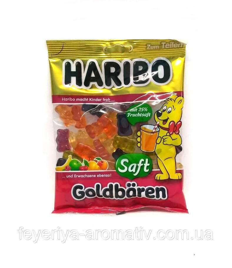 Желейные конфеты Haribo Goldbaren Saft 175гр. (Германия)