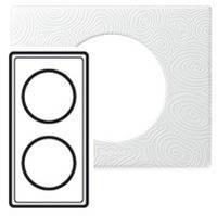 Рамка - Программа Celiane - эксклюзивная - 2 поста - фарфор белая феерия