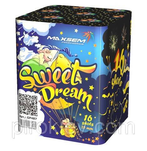 "Салютная установка GP487 ""Sweet Dream"" (16 выстрелов 25 мм.)"