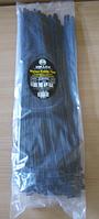 Хомут пластиковый 7,6*400 (в упак.100 шт) черный  Zollex