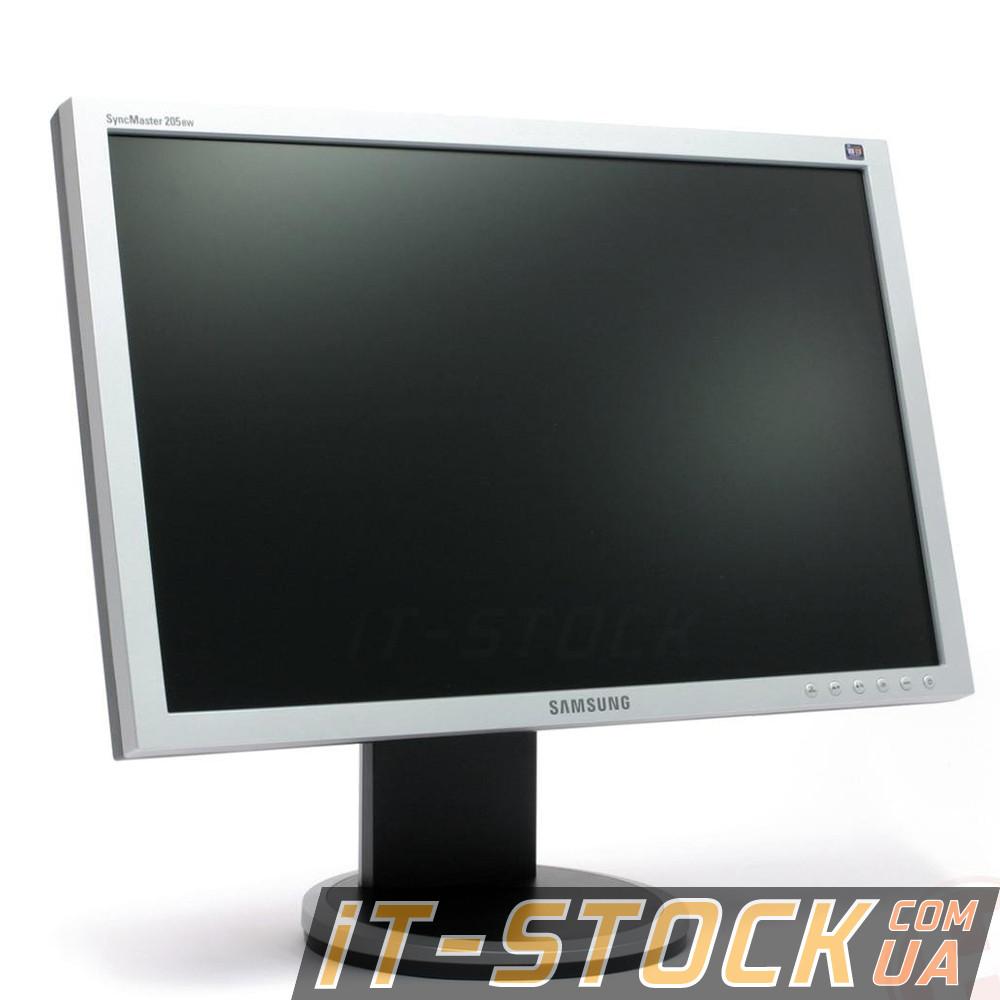 "Монитор 20"" Samsung 205BW (TN/16:10/DVI/VGA) class A б/у"