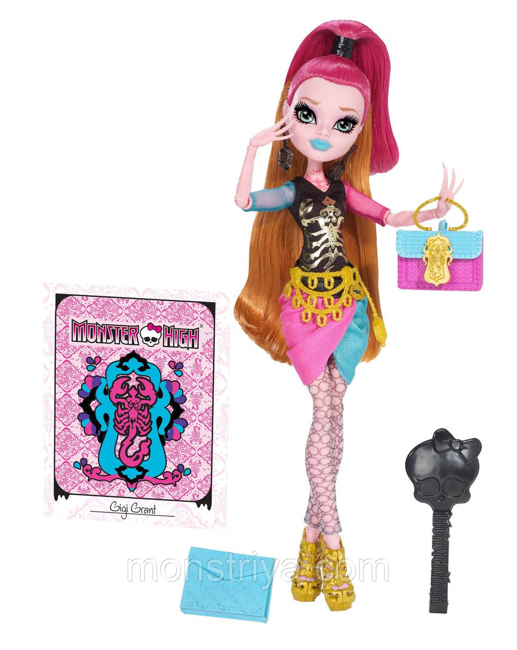 Лялька Монстер Хай Джіджі Грант Новий Скарместер Monster High New Scaremester Gigi Grant Doll