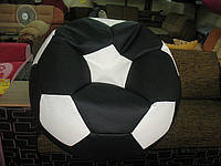 Кресло мяч черно-белый