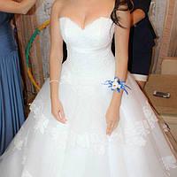 Свадебное платье нежное