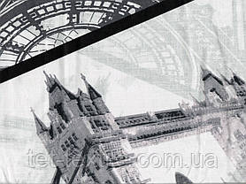 Простынь на резинке с рисунком 160х200+20, фото 2