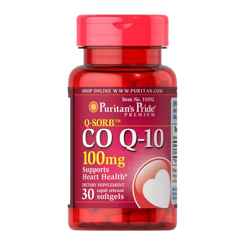 Puritan's Pride CO Q-10 100 mg (30 softgels)