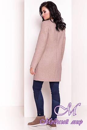 Женское красивое демисезонное пальто (р. S, M, L) арт. Абрис 5396 - 36654, фото 2