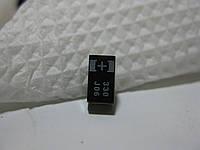 SMD конденсатор 330uF 6.3 В j06