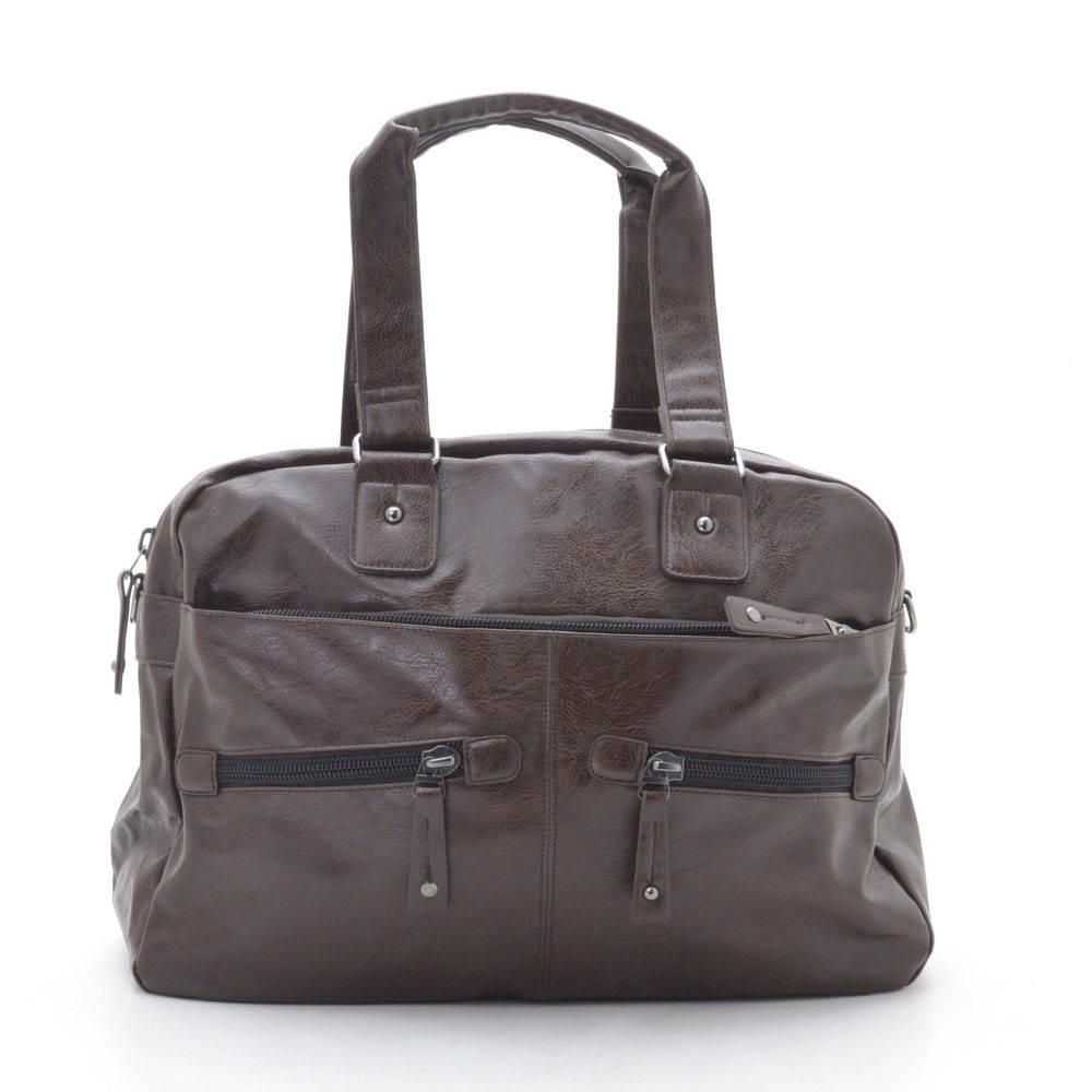 Мужская сумка коричневая