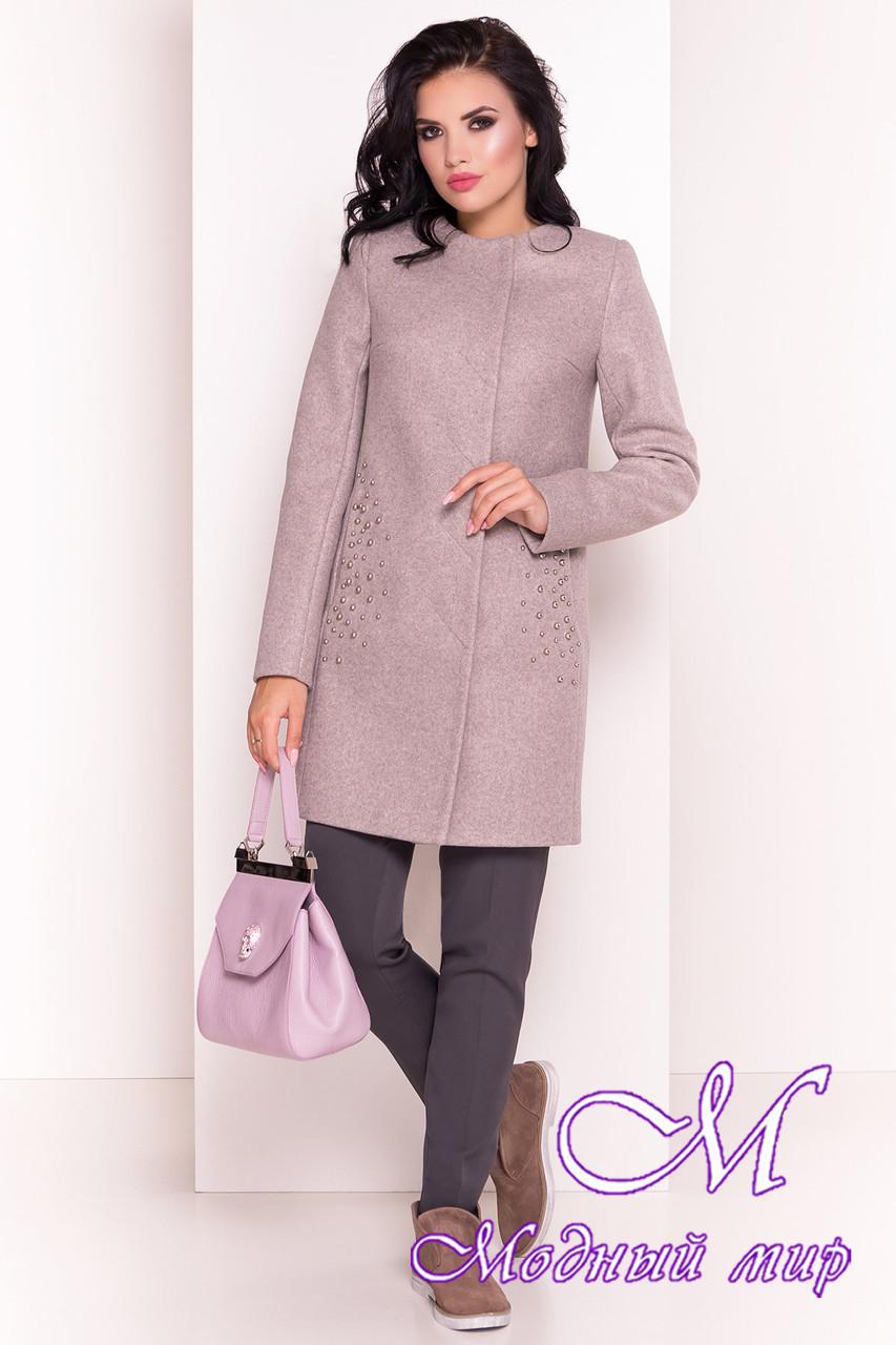 Красивое женское осеннее пальто (р. S, M, L) арт. Абрис 5396 - 36576