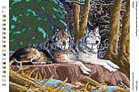 """Схема для вышивки бисером """"Вовки"""""""