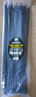 Хомут пластиковый 4,8*350 (в упак.100 шт) черный  Zollex