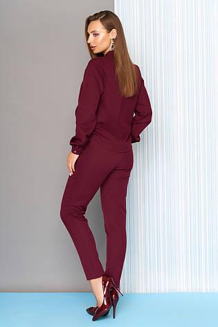 40605daf875 Классический женский комбинезон L-111 цвета бордо - купить по лучшей ...